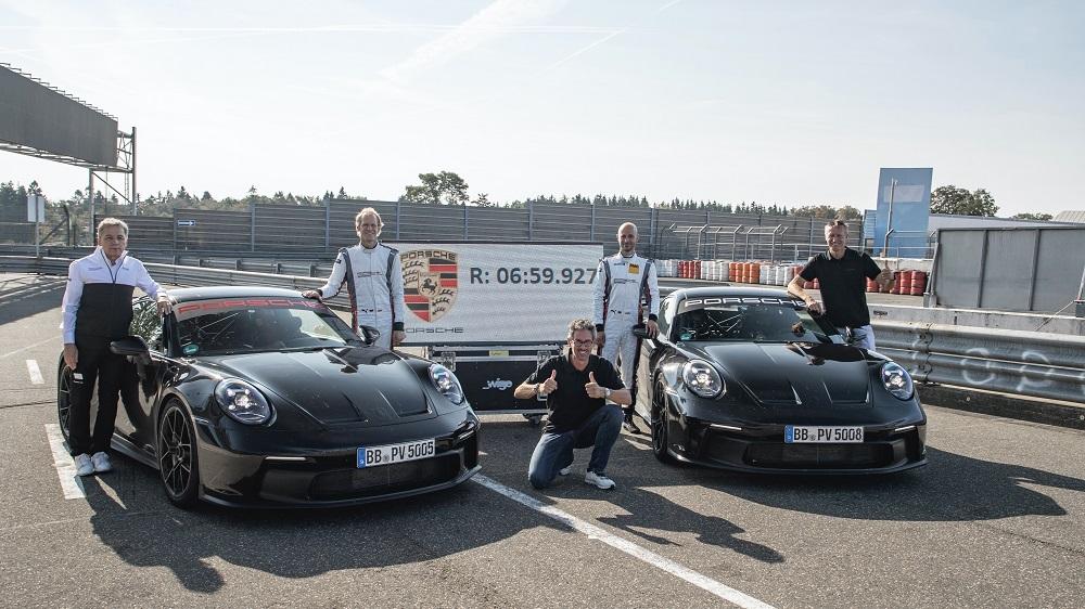 2022 Porsche 911 GT3 Nurburgring lap time