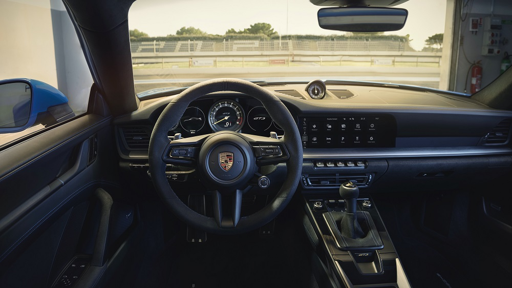 2022 Porsche 911 GT3 driver's view
