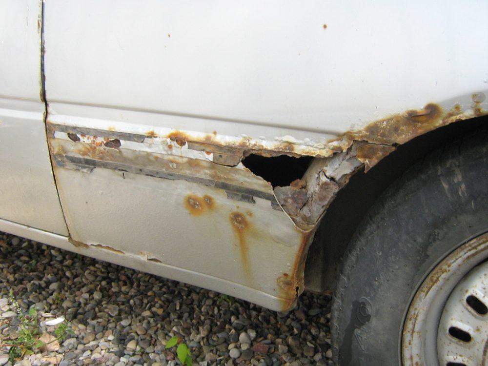 Penetrating rust