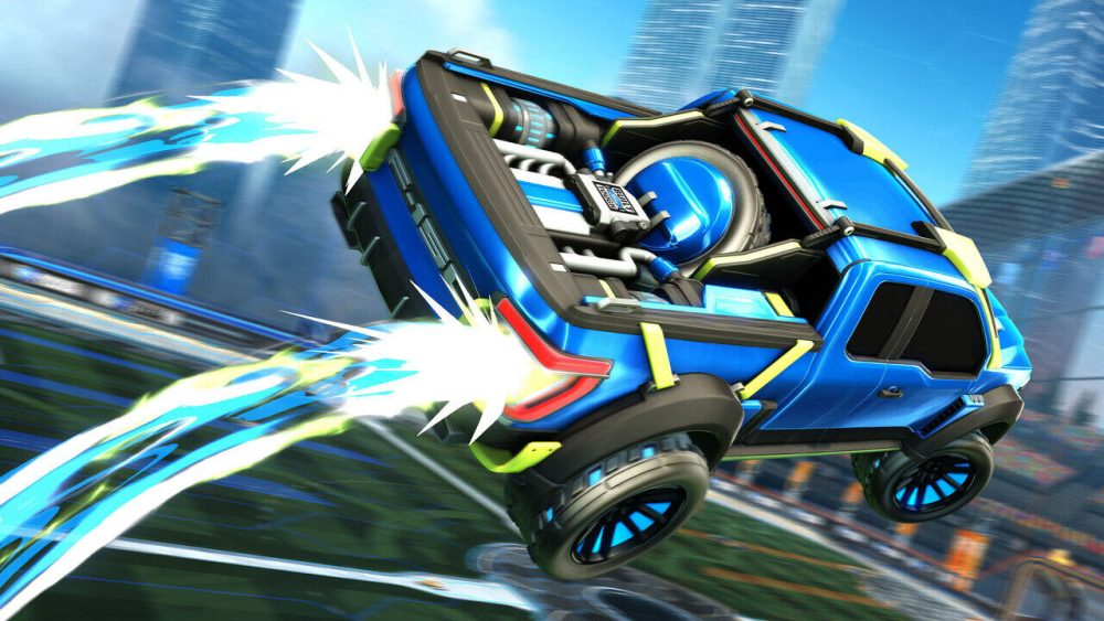 Ford F-150 Rocket League Edition Boost