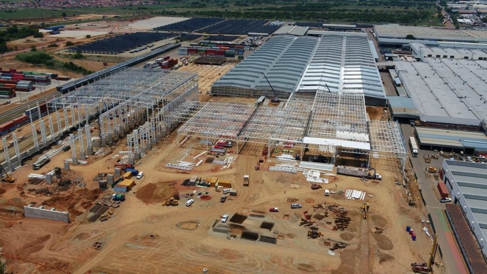 Ford Silverton Assembly Plant under construction | Ford investing $1.05B in South African manufacturing