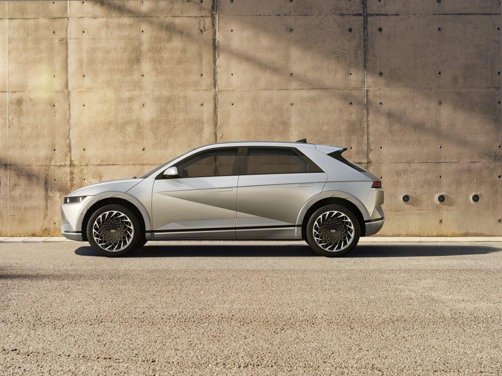 Side view of 2022 Hyundai Ioniq 5