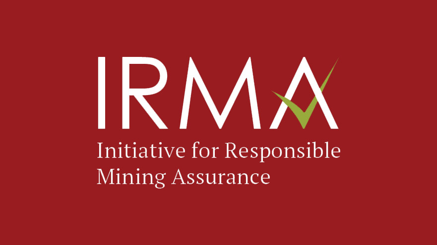 Logo for Initiative for Responsible Mining Assurance | Ford is the first automaker to join IRMA
