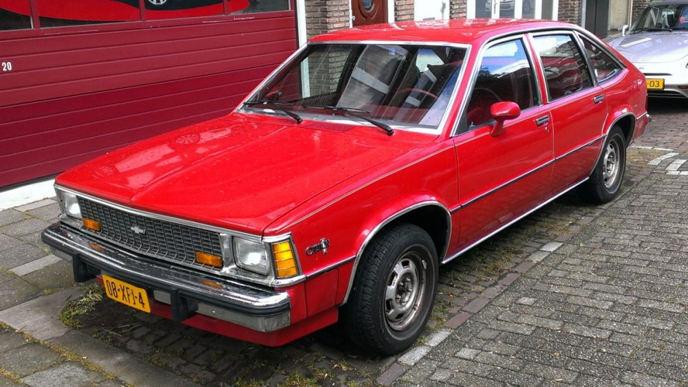 1980 Chevrolet Citation red