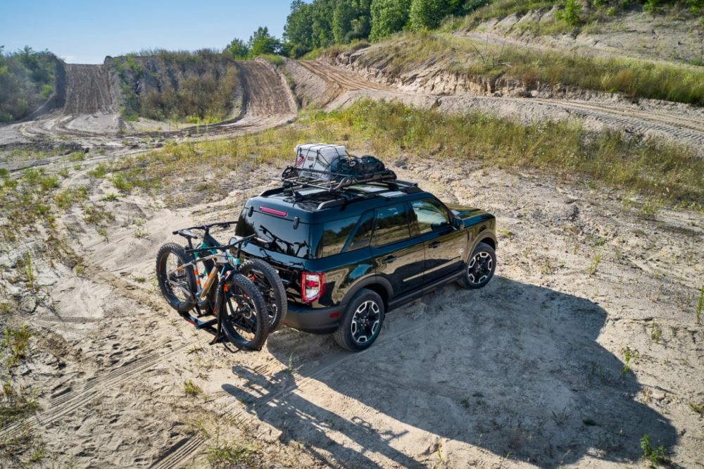 2021 Ford Bronco Sport Bike accessory package | Bronco Sport Accessory Packages