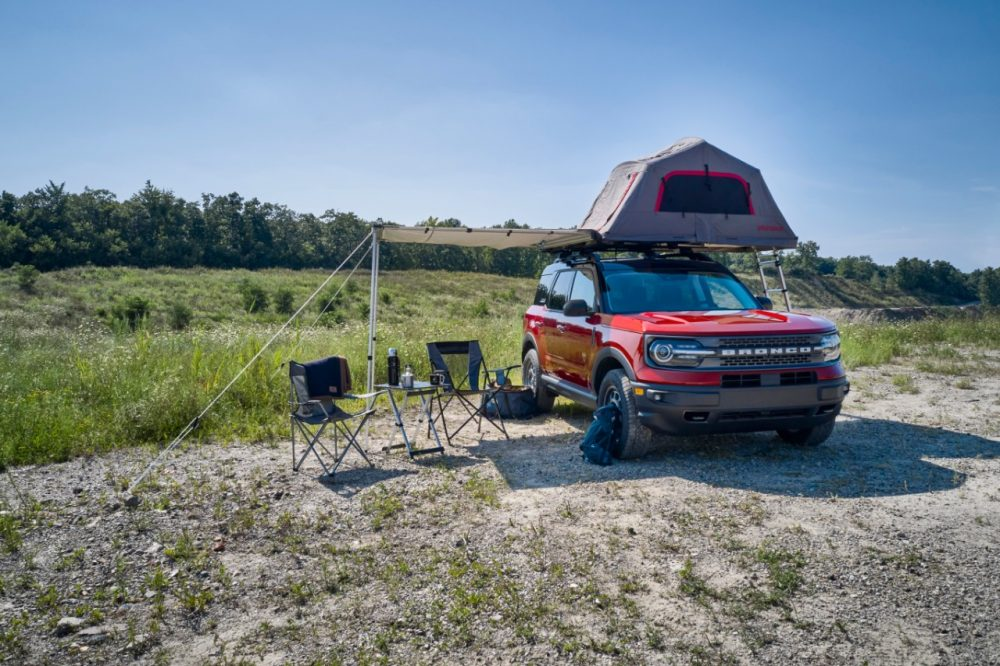 2021 Ford Bronco Sport Camping accessory package