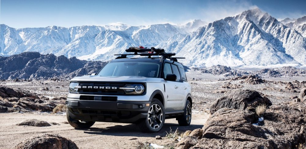 2021 Ford Bronco Sport Snow accessory package