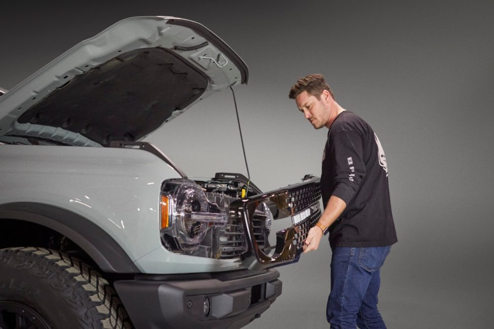 2021 Ford Bronco modularity renderings