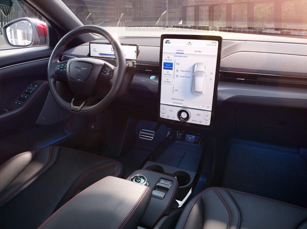 2021 Ford Mustang Mach-E cabin design