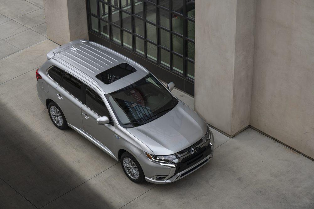 The 2021 Mitsubishi Outlander PHEV