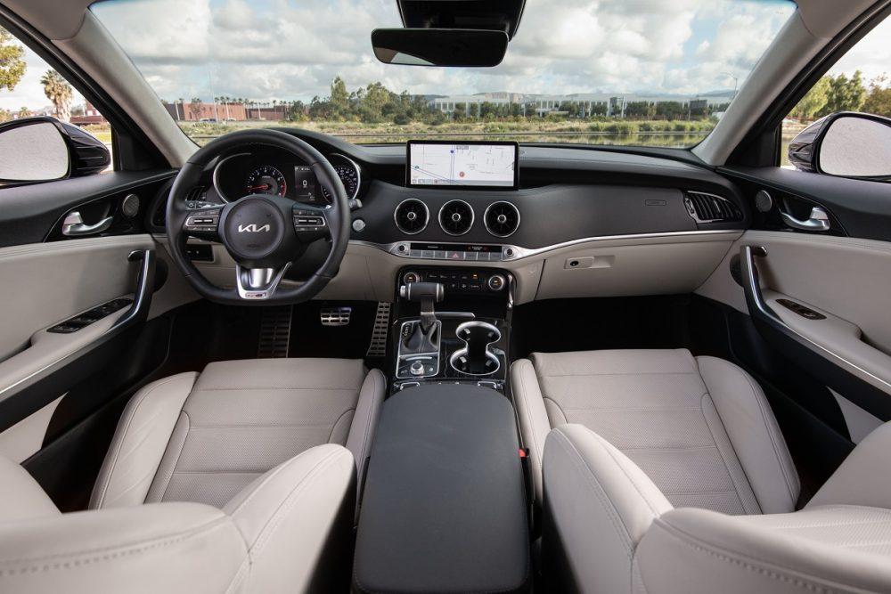 2022 Kia Stinger GT-Line interior