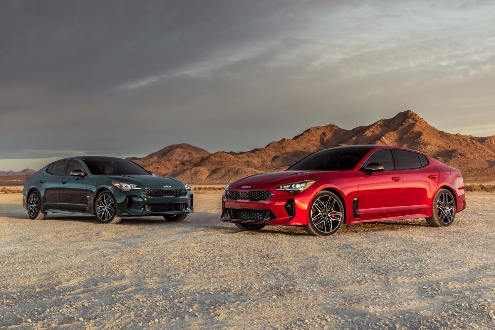 2022 Kia Stinger GT and GT-Line