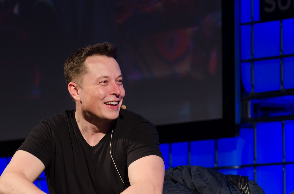 Elon Musk, pictured at The Web Summit 2013, could benefit from a Toyota Telsa partnership