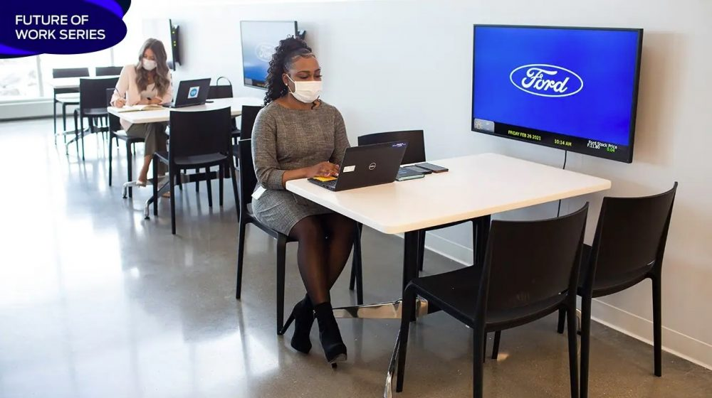 Ford announces a new hybrid work model for most salaried. non-place-dependent employees