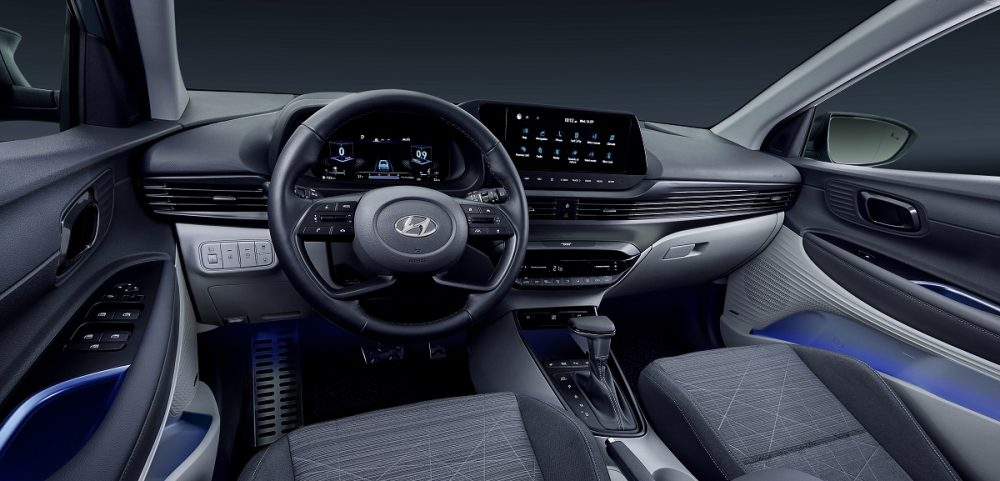 Hyundai Bayon front seats and dashboard