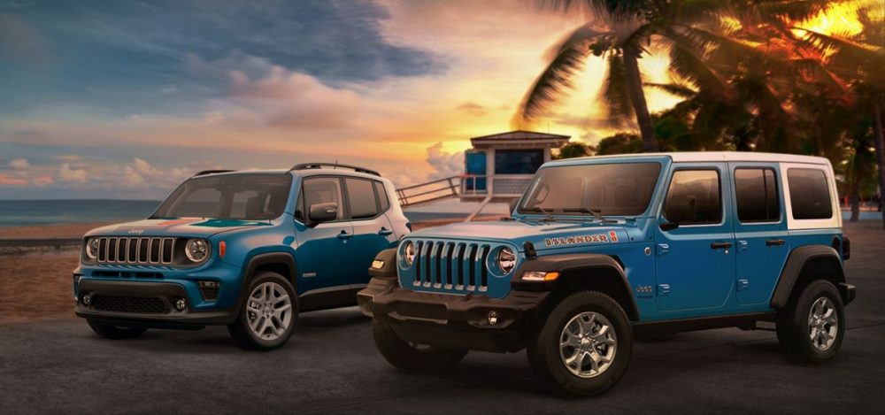 Jeep Wrangler and Jeep Renegade Islander Special Editions I