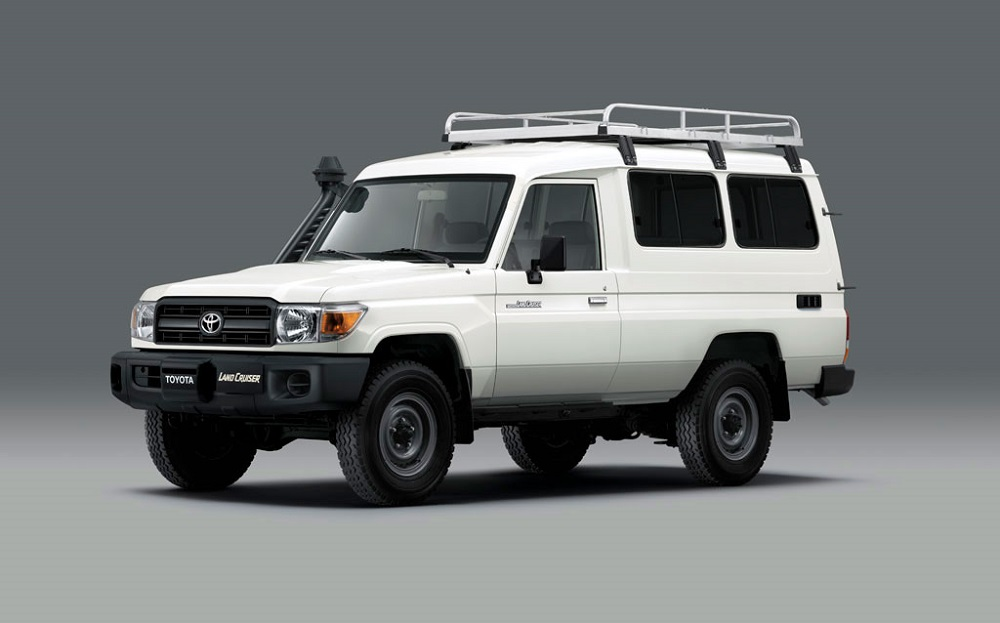 Toyota Land Cruiser 78 with COVID Vaccine Fridge