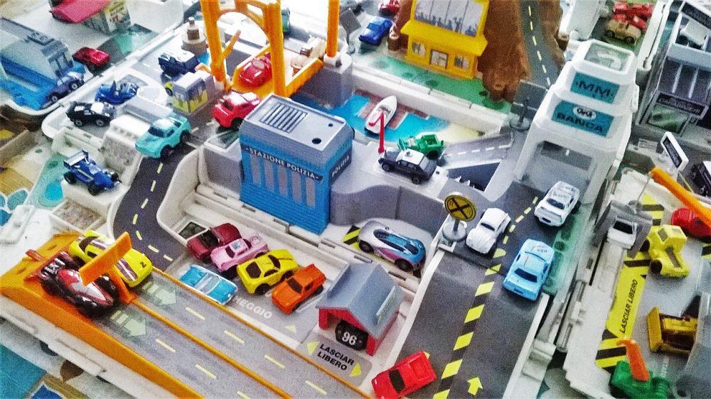 A veritable traffic jam of Micro Machines
