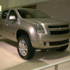 Front side view of 2003 Chevrolet Cheyenne Concept truck