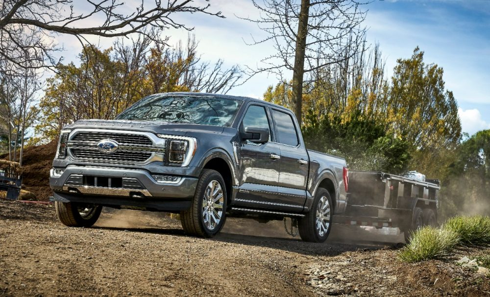 2021 Ford F-150 towing   Ford Grabs Semiconductor Chip Supply for Unfinished Trucks