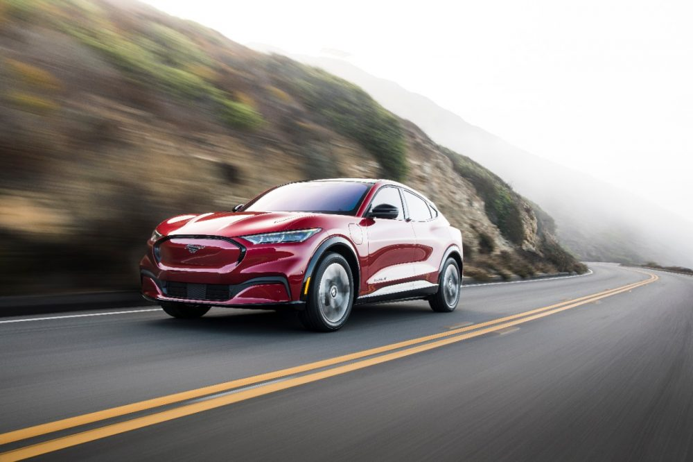 2021 Ford Mustang Mach-E | Ford Mustang Mach-E Named IIHS Top Safety Pick