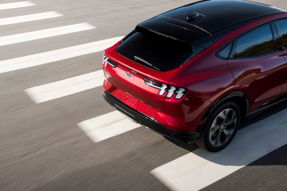 2021 Ford Mustang Mach-E rear
