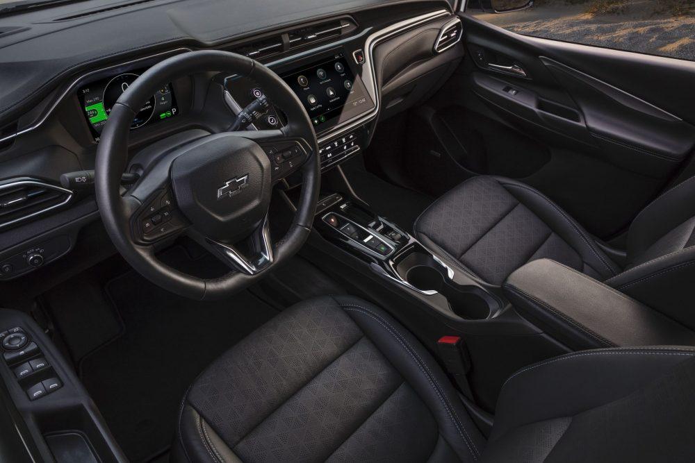 2022 Chevrolet Bolt EV driver side interior