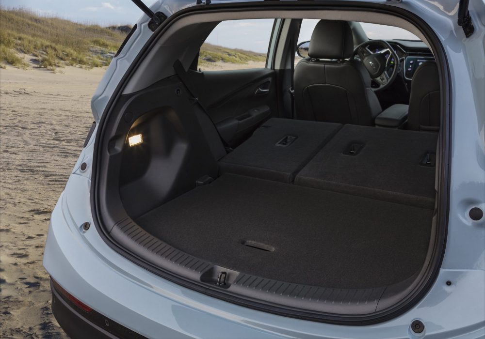 2022 Chevrolet Bolt EV cargo bay