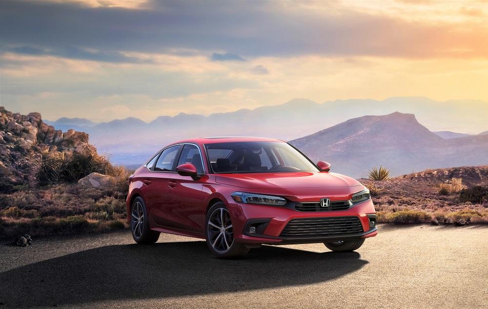 2022 Honda Civic Sedan Touring preview