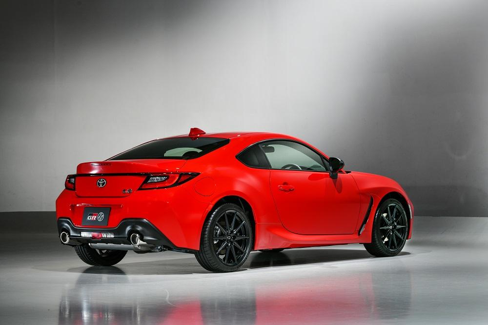2022 Toyota GR 86 rear right