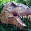 The T-Rex from 'Jurassic Park' attacks at Universal Studios