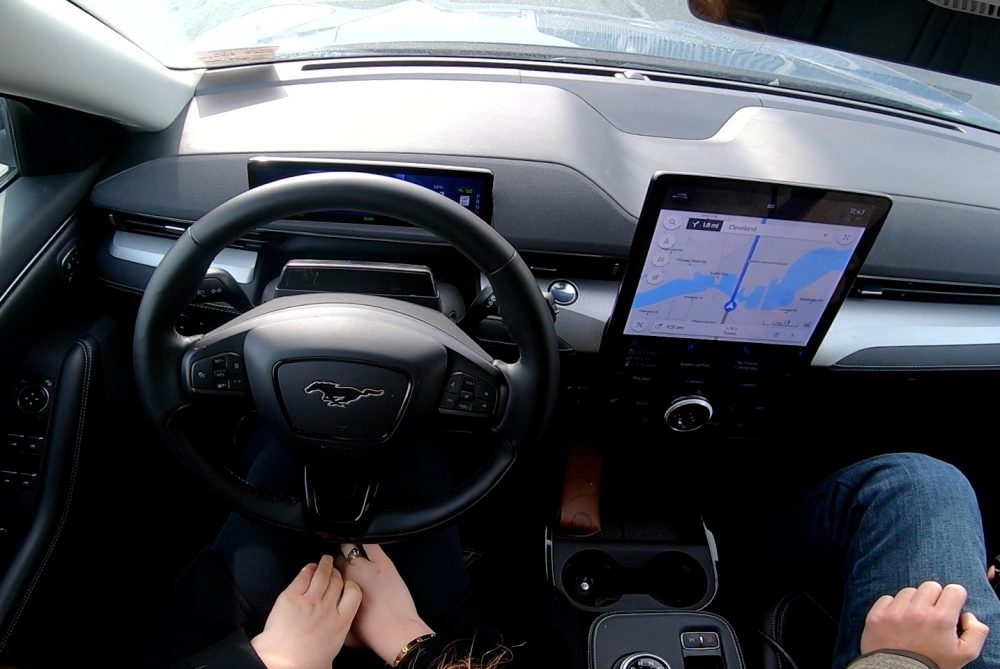 BlueCruise offers hands-free driving in properly equipped 2021 Ford Mustang Mach-Es