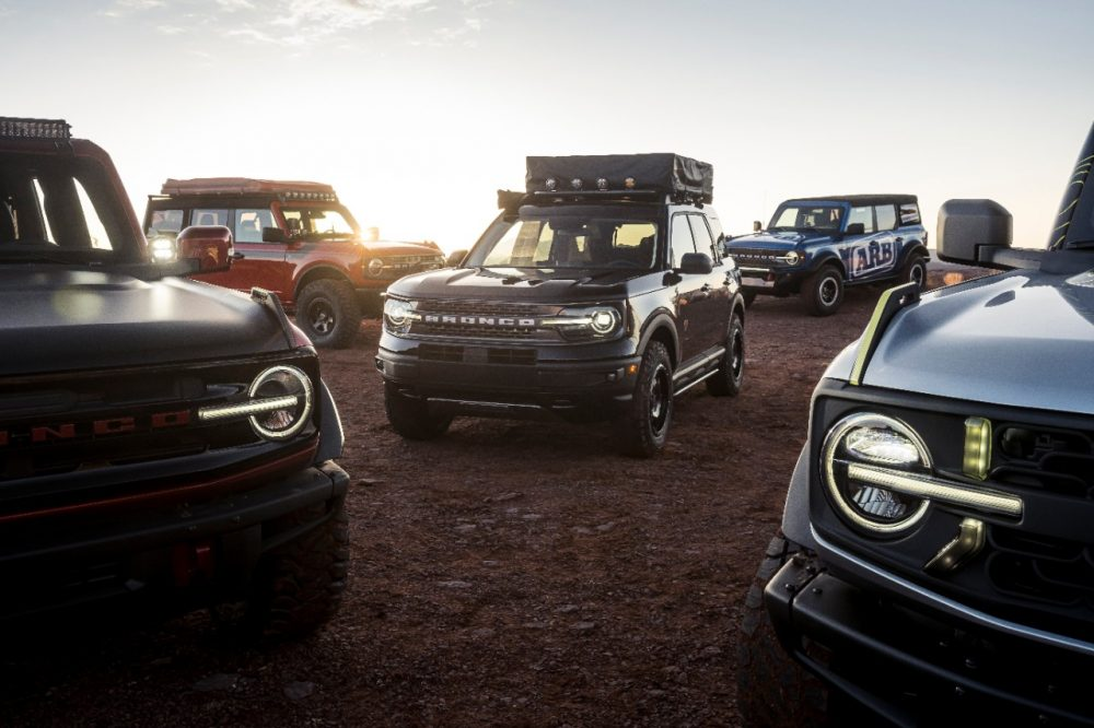 Ford showing off Bronco, Bronco Sport aftermarket parts in Moab at Easter Safari