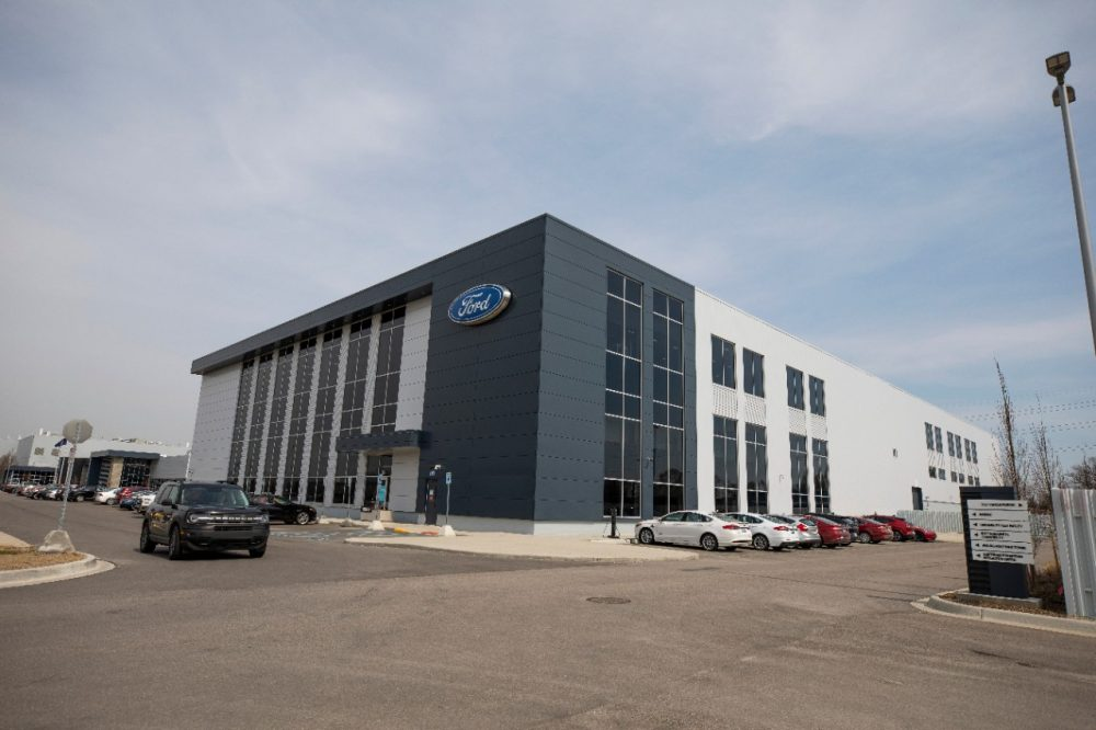 Ford Battery Benchmarking and Test Laboratory in Allen Park