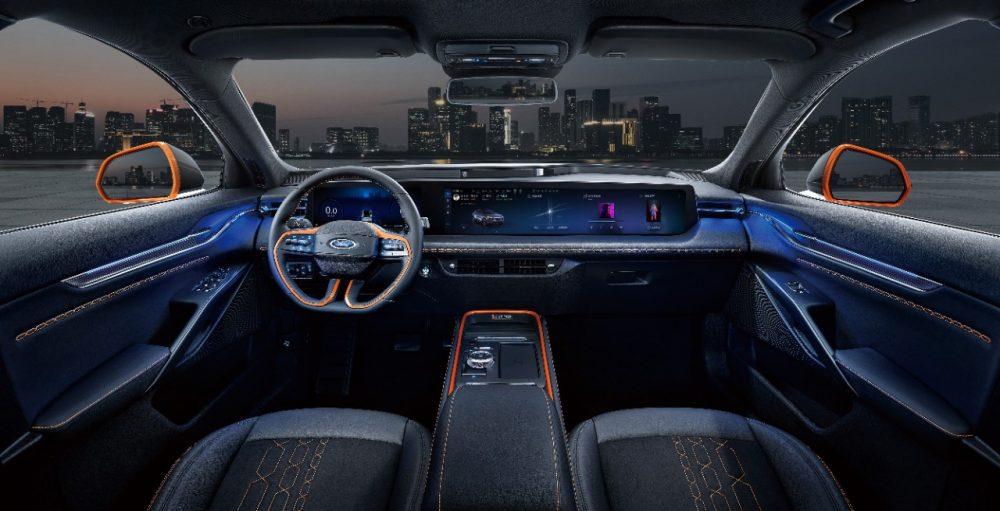 Ford EVOS smart cabin