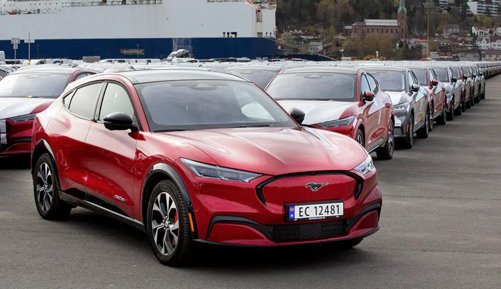 Ford Mustang Mach-E arrives in Norway