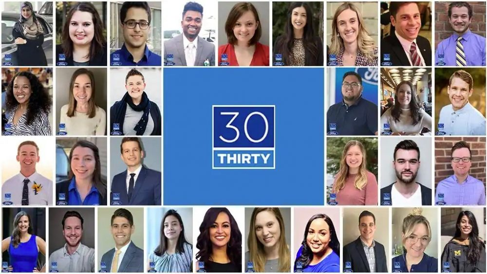 The Ford Thirty Under 30 Class of 2021