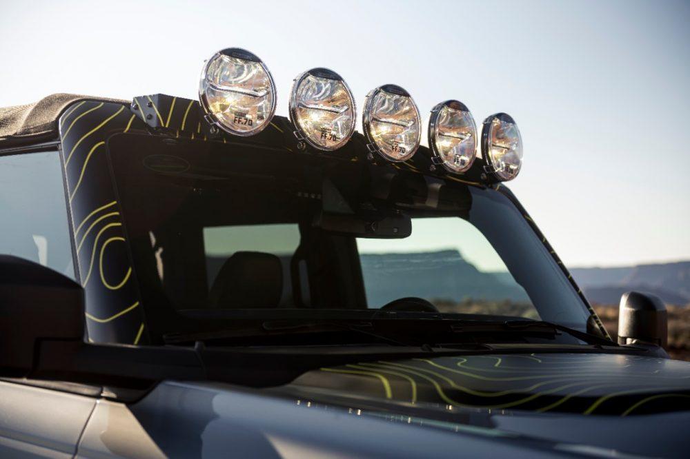 RTR Vehicles custom Ford Bronco Badlands four-door