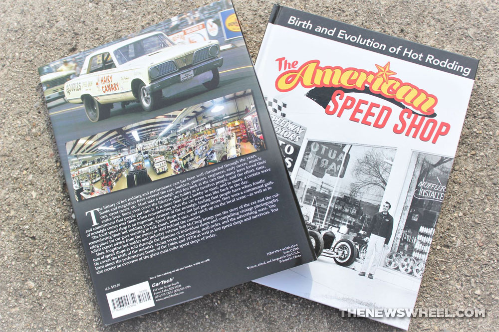 The American Speed Shop book review Bob McClurg Cartech Books dust jacket covers