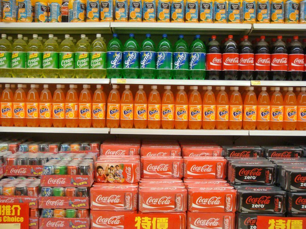 Soda aisle