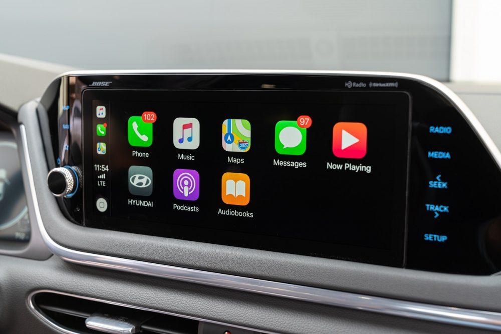 2021 Hyundai Sonata touch screen