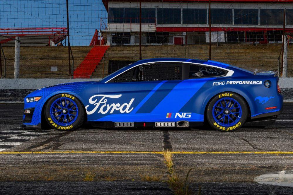 Next-Gen 2022 NASCAR Mustang