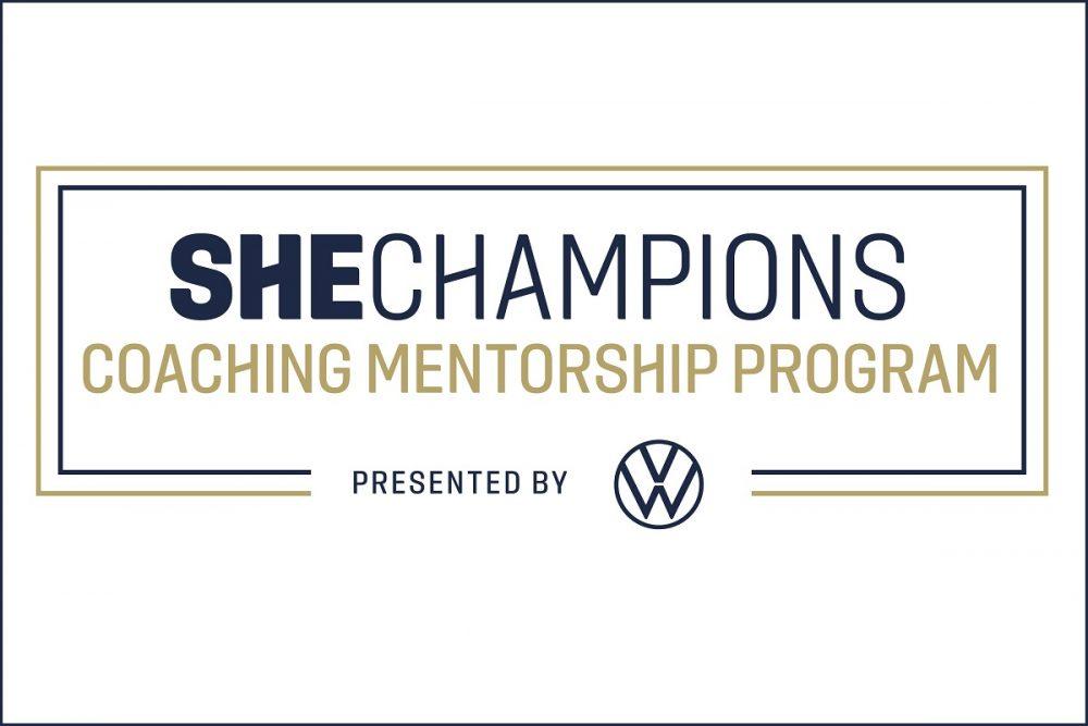 Volkswagen VW SheChampions Program US Soccer logo