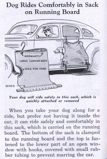 dog sack original advertisement car modification
