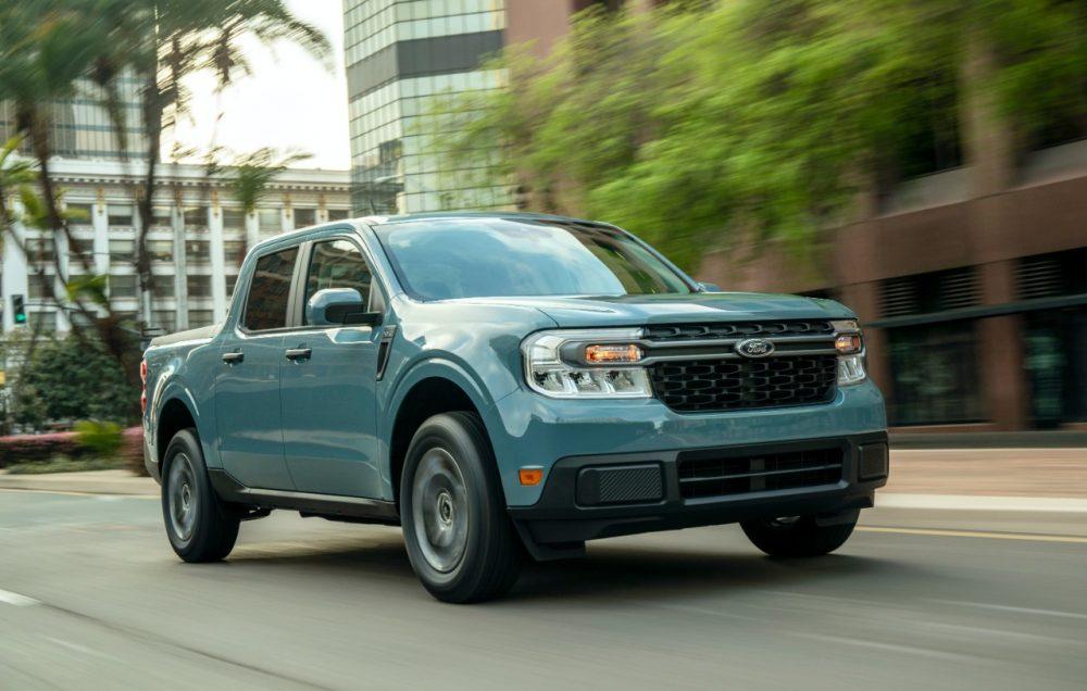 2022 Ford Maverick XLT with 2.5-liter Atkinson-cycle hybrid