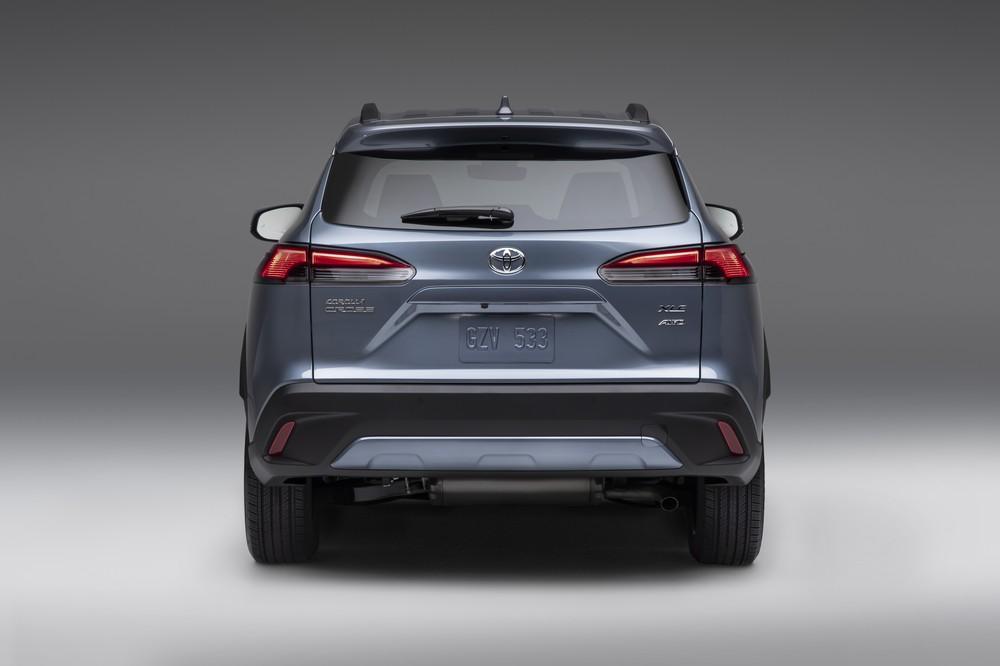 2022 Toyota Corolla Cross Celestite rear