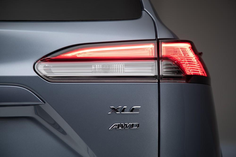 2022 Toyota Corolla Cross Celestite taillight