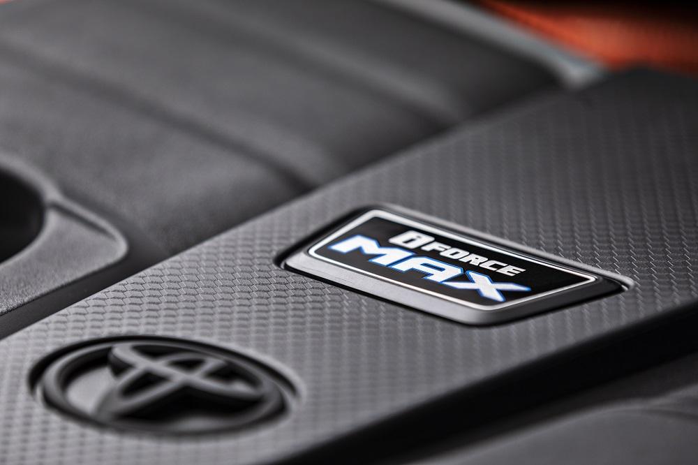 2022 Toyota Tundra iForce MAX badge