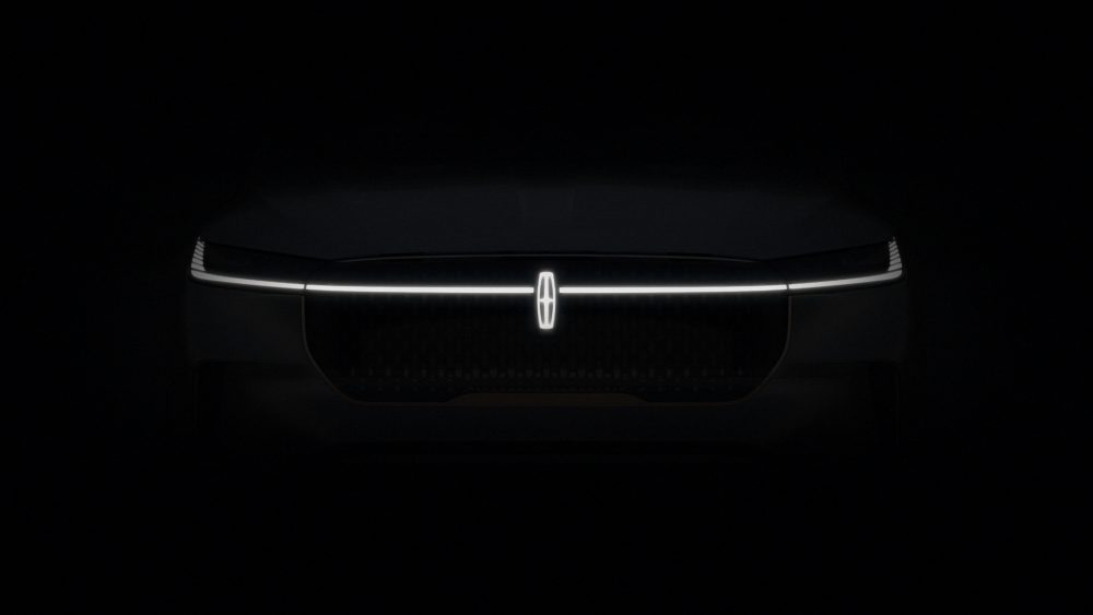 Lincoln teaser for the new EV to debut in 2022