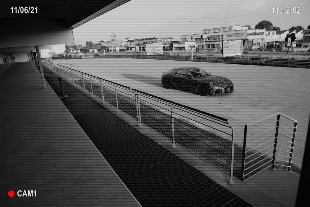 New Maserati GranTurismo security cam teaser shot